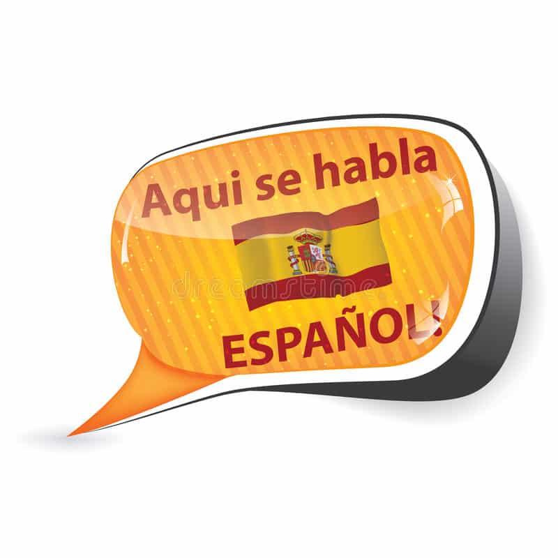 Aqui hablamos español !